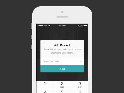 Modals in Gumroad iOS App gumroad ios modal