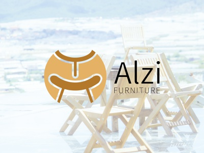 alvi furniture logo graphics logo design modern design logos new logo