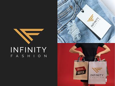 infinity fashion logo btand fabric logodesign new logos logo fashion