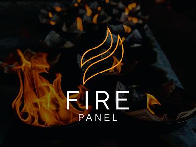 fire panel logo logodesign new logos logo fire