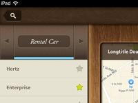 DoubleTree iPad App - Map Screen - Detail 1