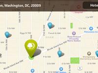 DoubleTree iPad App - Map Screen - Pin Detail