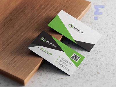 Business Card Design packaging scale ux vector logo branding illustration design mockup