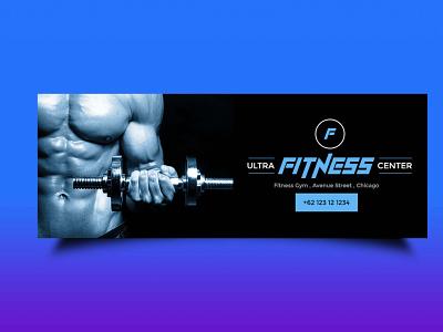 Free Gym Facebook Design ui business packaging ux vector logo branding illustration design mockup