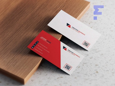 Minimalist Business Card Design business ui scale packaging vector logo branding illustration design mockup