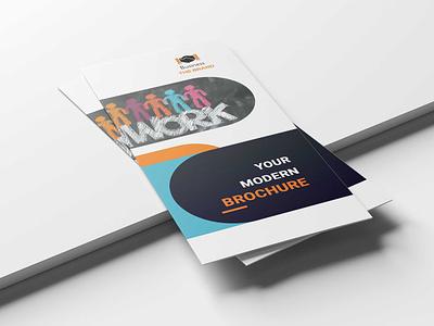 Corporate Brochure Template free web business tri fold brand design brochuredesign templates template brochure psd fold tri corporate