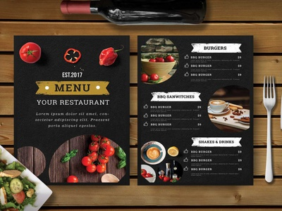 Premium Hotel Dinner Menu Template icon ui vector ux design mockup web designing branding hotel dinner psd menu menu template dinner psd hotel premium