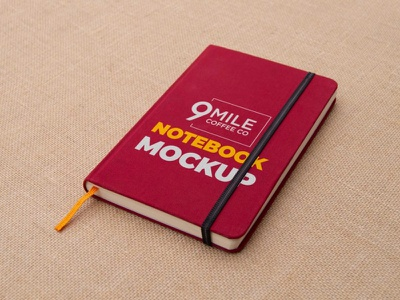 Notebook Mock-Up icon ux typography ui vector logo design mockup illustration branding premium new latest copy notebook