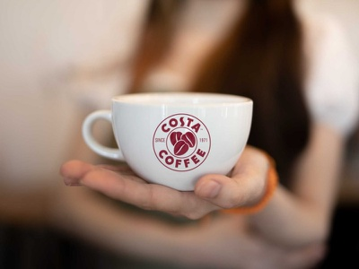 Tea Cup Logo Mockup clean best free icon typography ui vector ux logo illustration branding mockup design mug cup tea