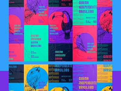 "REVOADA: MOSTRA ""NOVÍSSIMO"" illustrator vector typography logo illustration branding design cinema brazil"