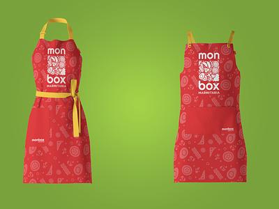 Identidade Visual: Monbox Marmitaria restaurant marmitaria food logo branding design brazil
