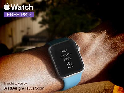 Apple Watch Template free PSD iwatch smart mockup apple watch template free psd