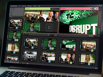 Connesta desktop cloud control room platform video editing empty data volume preview app