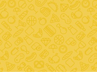Food Pattern background