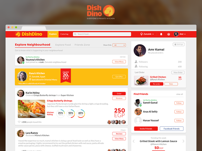 Home Food Social Network
