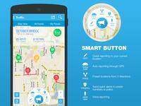 Traffic Navigation App