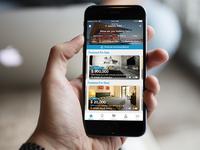 Property App Homescreen