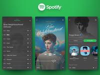 Spotify Play + Artist Profile