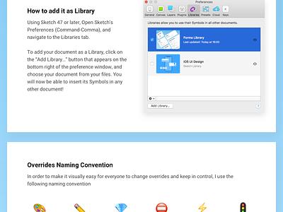 Forma Library v1.0 ux design system sketchlibrary library ui sketch