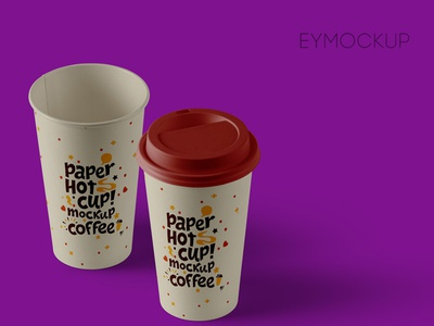 Big Coffee Cup Mockup graphic design large cup cup coffee design psd mockup