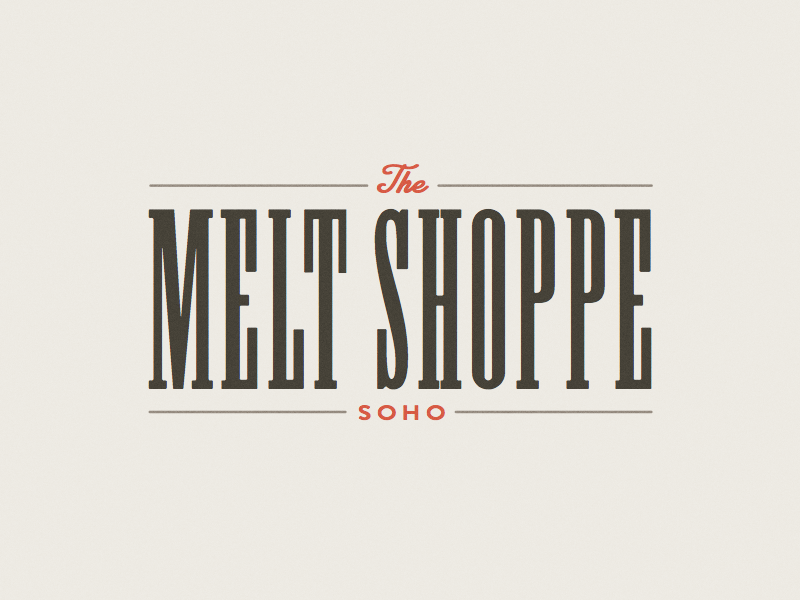 Melt Shoppe tampa brand logo shoppe sandwich melt cheese grilled
