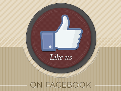Like us - Facebook button