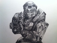 Final Halo Sketch