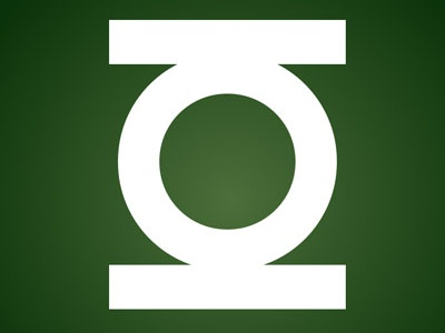 Green Lantern Logo in CSS/HTML Only