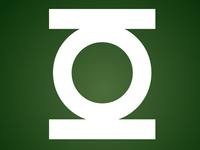 Green Lantern Logo in CSS/HTML Only