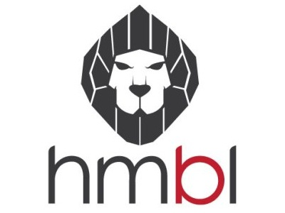 Draft of Logo and Brand design for hmbl clothing