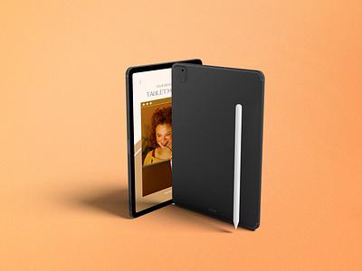 Tablet / iPad Pro Mockups design ux graphic design 3d ui
