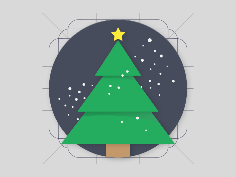 Christmas - Material Design Icon By Samy