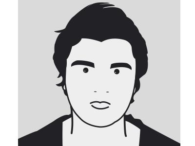 Self Portrait - Julian Opie Style