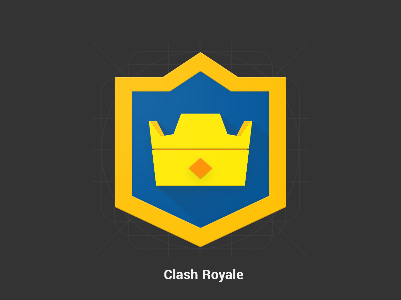 Clash Royale Redesign Material Design Icon By Samy Dribbble