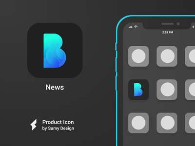 News - iOS Icon Design