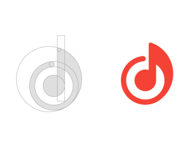 Music Note | Logo concept for Rhythm Software