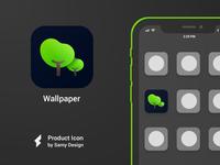 Wallpaper -  iOS Icon Design