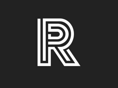 Alphabet R - Logo Design