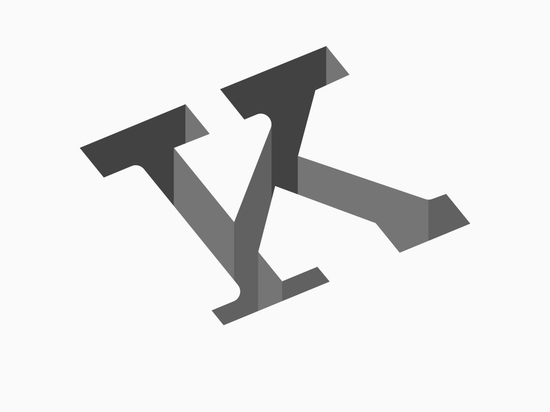 Alphabet K - Logo Design arrow alphabets challenge letters letter trending branding illustartor graphicdeginlife graphicdesigner samy designer graphic design logodesign icon monogram typography 30dayschallenge logo