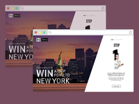 TRESemmé Takes NYC Campaign Site