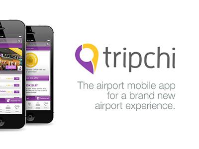 Tripchi App ios iphone mobile ui