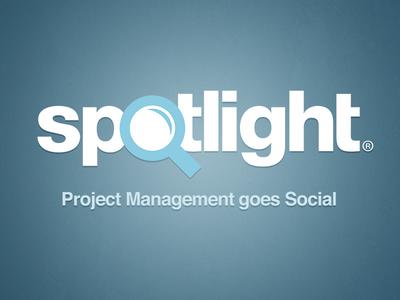 Spotlight branding identity logo
