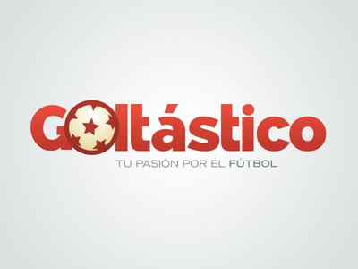 Goltástico branding logo