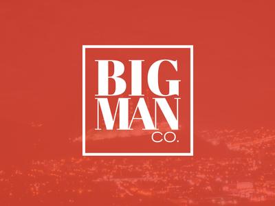 BigMan Co. logo identity branding