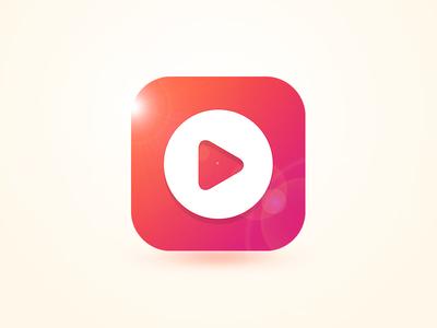 BM Stream Icon tv app media-player player
