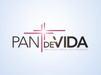 Pan de Vida identity logo brand