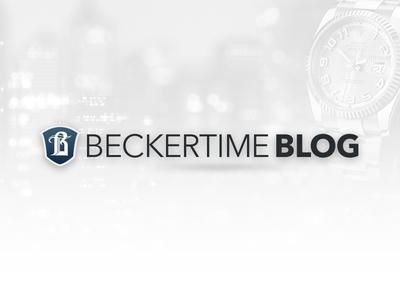 BeckerTime BLOG re-design web design uiux
