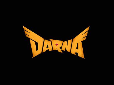 Darna Logo lettering typography philippines superhero sigawdarna darna