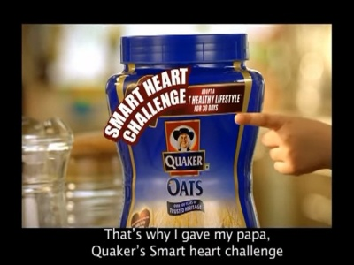 Get Ready To Take Smart Heart Challenge | Quaker Oats oats