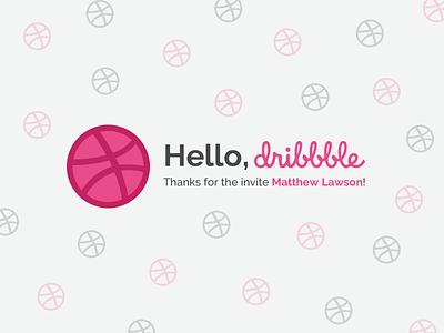 Hello, Dribbble! ui dribbble design hellodribbble hello dribble